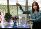 Samsung y su primer televisor transparente