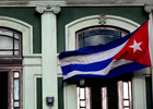 Bandera de Cuba en Washington