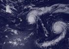 Tres huracanes se forman en el Pacífico